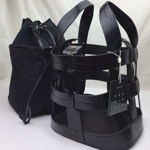 Trademark Cooper Cage Leather & Canvas Tote